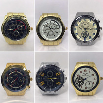 41c711b414df Reloj De Hombre C  Malla De Metal X5 Unidades X Mayor Envios