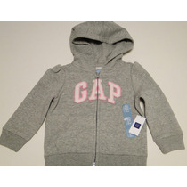 Nuevo!! Buzo Campera Baby Gap Gris T.18-24 Meses (imp. Usa)