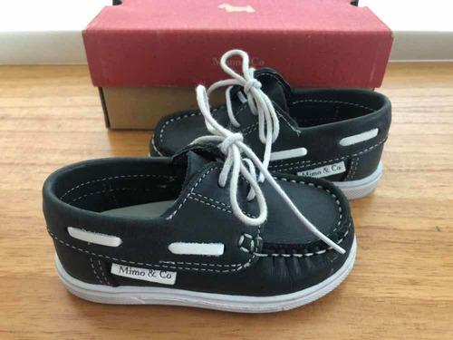 da858396 Zapatos Niños Náuticos Mimo- Talle 20