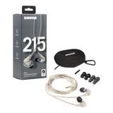 Auriculares Shure Se215 Earphones In Ear Garantia Oficial