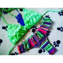 Bikini 2 Piezas Colores Vivos 2018