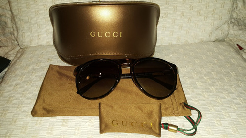8863e1183f Anteojos Gucci Originales C/estuche Y Funda
