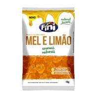 Bala de Gelatina Natural Sweets com Mel e Limao - 18g - Fini