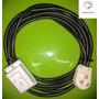 Alargue 5 Metros Cable 2,5 Mm X 3 Ficha 20 Amp Envio Gratis