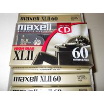 Cassette - Maxell Xlii - Cromo 60 Minutos Precio Por Unidad