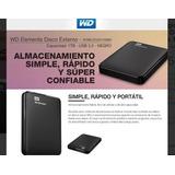 Disco Rigido Externo Western Digital Wd Elements 1tb Usb3.0