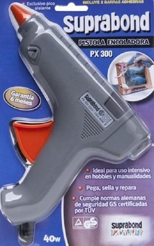 Pistola Suprabond Encoladora Px 300 + Barras Gruesas 1kg