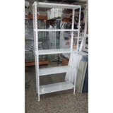 Estanteria Metalica 30x90x2mt Con 5 Estantes Para 50kg X Est