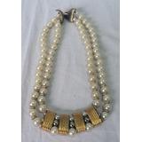 0726f38d8c94 Antiguo Collar Retro Vintage De Perlas Fantasia Gargantilla
