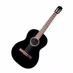 Guitarra acústica GC1, color negro (BLK)