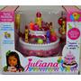 Torta Cumpleaños Felíz Juliana Con Luces Y Sonido