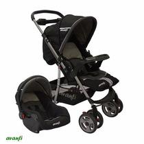 Babynet Coche Bebé Paseo C/huevito Y Base Avanti ( Minori )