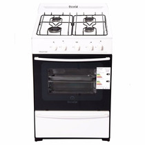 Cocina Escorial Master Gn 56cm 4 Hornallas Gas Natural