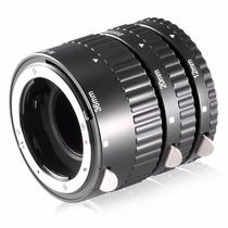 Tubo De Extensión Lente Nikon Af P/ Macro Montura Metálica