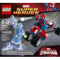Lego Marvel Super Heroes 76014 Spider Original