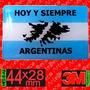 Insignia Bandera Argentina, Malvinas Resinado Dome
