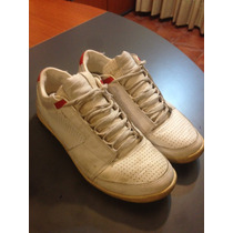 Zapatillas De Cuero Nike Blancas