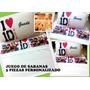 Juego De Sabanas 3 Piezas - One Direction