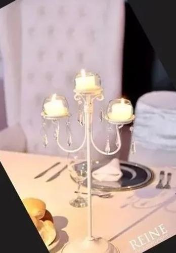 Candelabro, Porta Vela  .15 Años / Casamiento-candelady