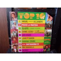 Vinilo Top 10 Vol 2 Pocho Gladys Lezica Leales Riki Miguel