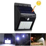 Luz Exterior Solar De 48 Leds Para Jardines Parques Garages