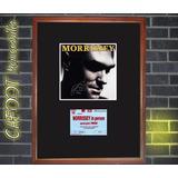 Morrissey Tapa Cd Autografiada Y Entrada Recital 1991