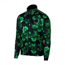 Conjunto Nigeria Floreado Verde 2018 Pantalon Y Campera