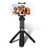 Monopod Baston Palo Selfies Celular Bluetooth Tripode