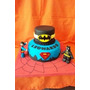 Tortas Decoradas Batman Y Superman