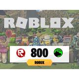 800 Robux @  Roblox - Mercadolíder Gold Todos Los Días On