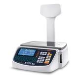 Balanza Comercial Digital Systel Cuora Max 15 Kg 110v/220v Blanco