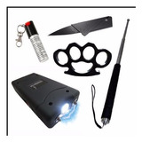 Kit De Seguridad Personal Defensa Maxima