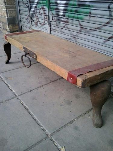 Mesa ratona estilo campo 1300 layln precio d argentina for Precio de futones