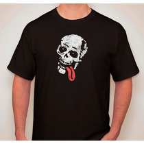 Remera Estampada Breaking Bad Jesse Pinkman Calavera Lengua