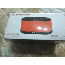 Portable Car Speaker With Tf/usb/fm Radio (hx-168)