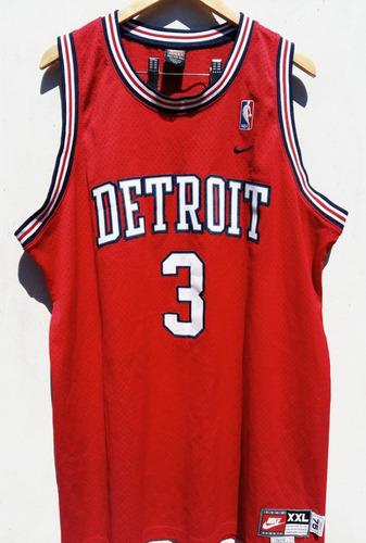 Camiseta Nba Detroit Pistons - 2xl - Nike 255fa52417c