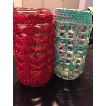 Frascos Tejidos Al Crochet - Decorá Tu Alacena