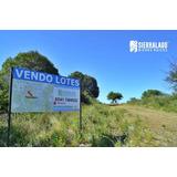 Emprendimiento Loteo Al Lado Del Río. Terrenos Financiados En Valle Hermoso, Córdoba. Sierralago Bienes Raíces
