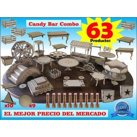 Candy Bar 63 Productos Combo Mdf Fibrofacil G I G A N T E!!!