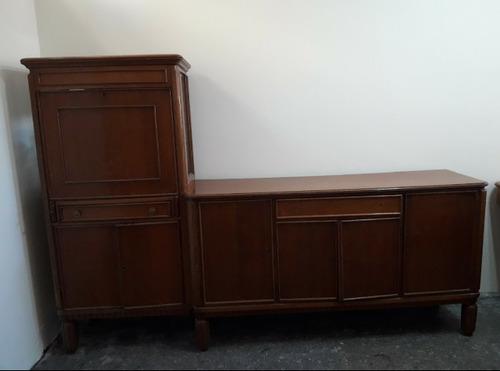 Mesa y mueble de roble antiguo 10000 mkm5r precio d for Muebles antiguos argentina