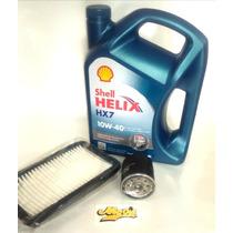 Kit De Filtros Y Aceite Toyota Corolla 2004 Shell