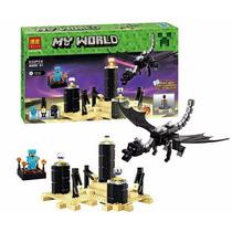 Minecraft El Dragón Ender Nuevos!!!632 Pzs
