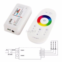 Controladora Rgb Wireless Touch! 30 Mts 640000 Colores !!!