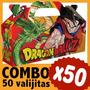 Dragon Ball Z Cajita Bolsita Souvenir Infantil Combo X 50