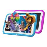 Tablet 7 Android Kids Hd 8gb Control Parental + Funda + Film