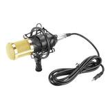 Micrófono Con Accesorios Fifine F-800 Condensador Negro