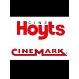 Entradas 2d Cinemark/hoyts