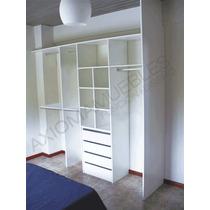 Interior De Placard Vestidor Frentes 2,5mts A Axiomamuebles