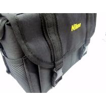 Bolso Nikon Sr Linea Nacional P/ Nikon D3200, D5200, D3100