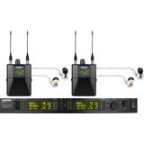 Shure Psm1000 P10tr425cl Sistema Doble De Monitoreo In Ear